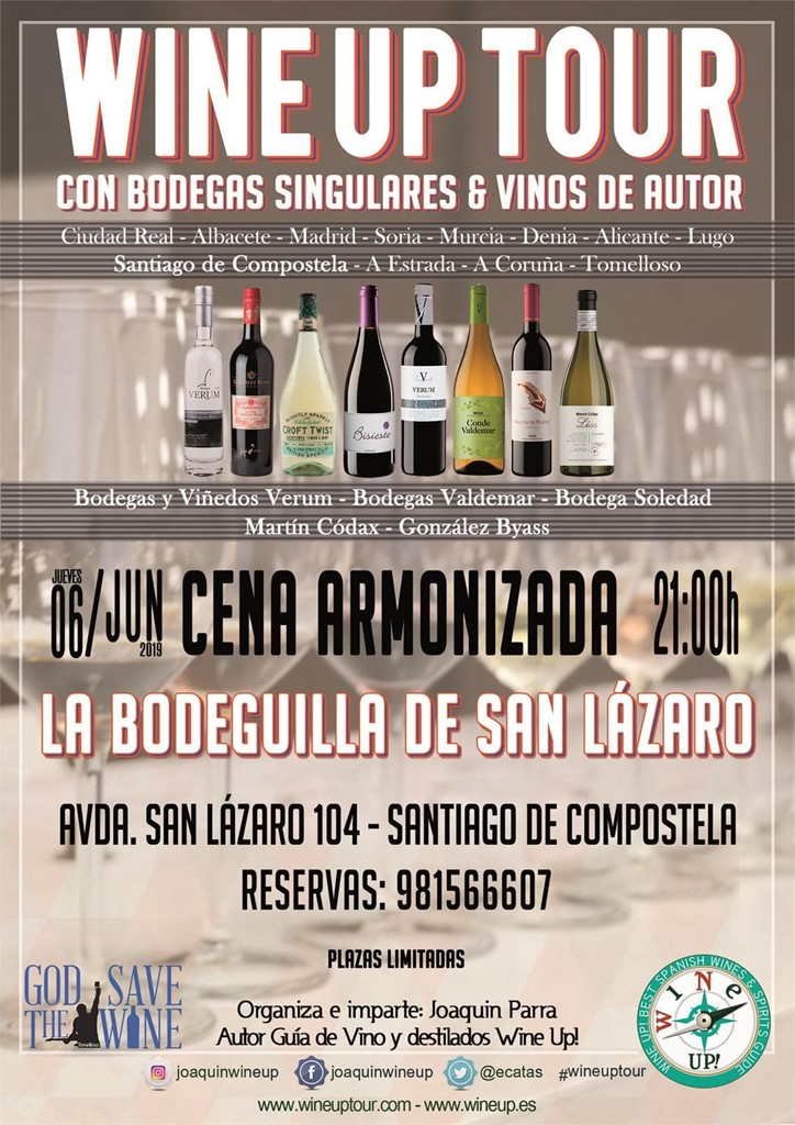 "Tertulias Bodeguilla ""Wine up Tour 2019"""